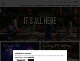 canarywharf.com screenshot