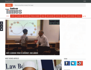 canasiantimes.com screenshot