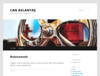 canaslantas.com screenshot