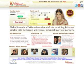 canasoft.mehndi.com screenshot