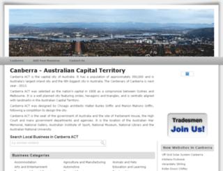 canberra-act.net screenshot