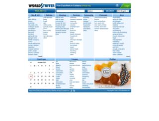 canberra.worldstuffer.com screenshot