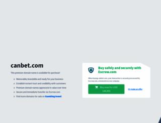 canbet.com screenshot