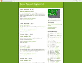 cancer-carnival.blogspot.com screenshot