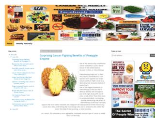 cancer-cures-group.blogspot.com screenshot