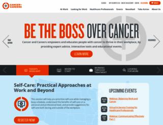 cancerandcareers.com screenshot