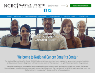 cancerbenefits.com screenshot