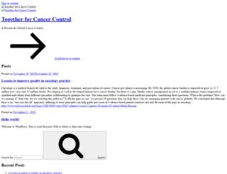 cancercontrol.net screenshot