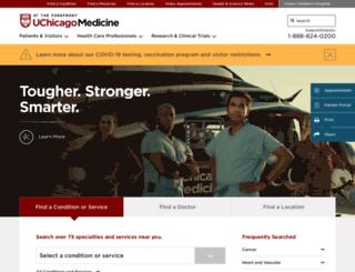 cancerconversations.uchospitals.edu screenshot