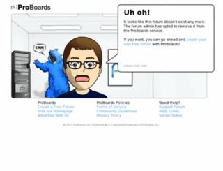 cancersupportsite.proboards.com screenshot