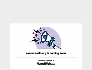 cancerworld.org screenshot