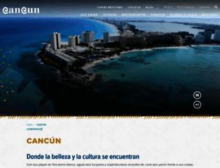 cancun.travel screenshot