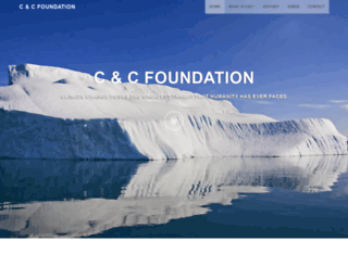 candcfoundation.com screenshot
