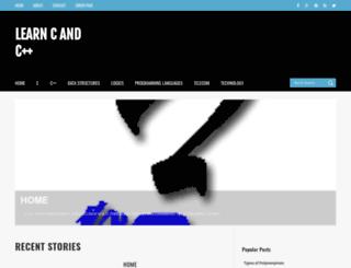 candcppeasy.blogspot.in screenshot