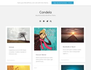 candelademo.wordpress.com screenshot