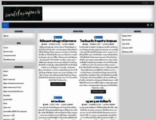 candelariaparis.com screenshot