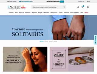 candere.com screenshot