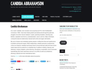 candidaabrahamson.wordpress.com screenshot