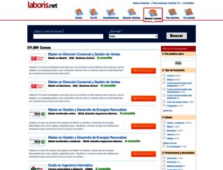 candidatosformacion.laboris.net screenshot