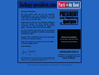 candidatsarkopy.free.fr screenshot