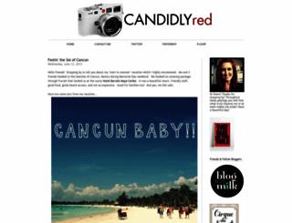candidlyred.blogspot.com screenshot