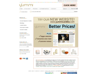 candlesjustonline.com screenshot
