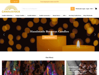 candlestock.com screenshot
