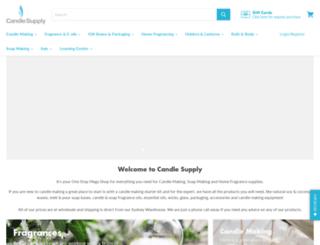 candlesupply.com.au screenshot
