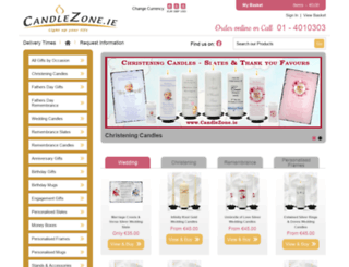 candlezone.ie screenshot