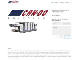 candoprinting.com screenshot