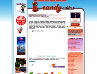 candyaddict.com screenshot