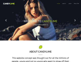 candylime.com screenshot