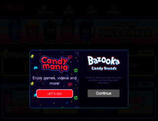 candymania.com screenshot