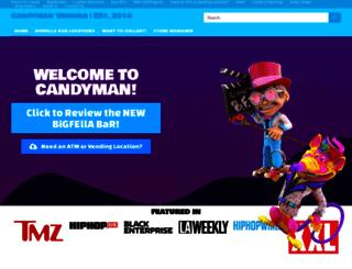 candymanvendingservice.com screenshot