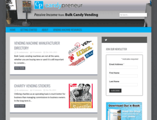 candypreneur.com screenshot