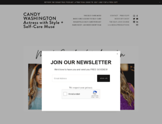 candywashington.com screenshot