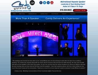 candywhirley.com screenshot