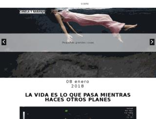 canelaynaranja.es screenshot