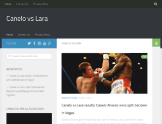 canelovslara.com screenshot