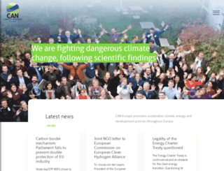 caneurope.org screenshot