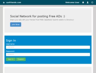 canfriends.com screenshot