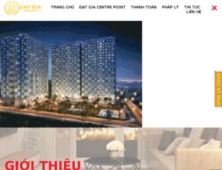 canhodatgia.com.vn screenshot