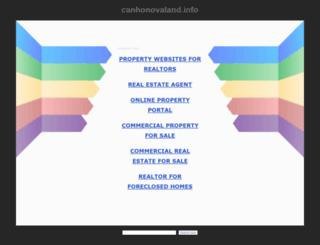 canhonovaland.info screenshot