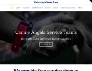 canine-angels.org screenshot