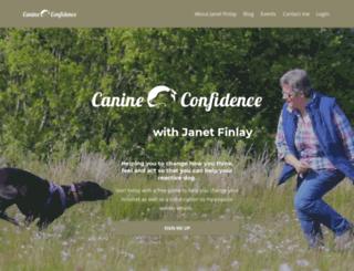 canineconfidence.com screenshot