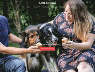 caninecupcakes.com screenshot
