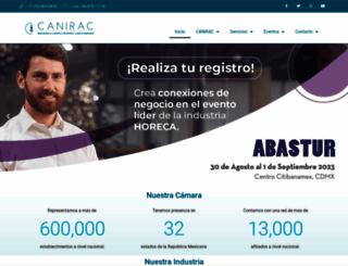 canirac.org.mx screenshot