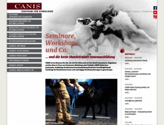 canis-kynos.de screenshot