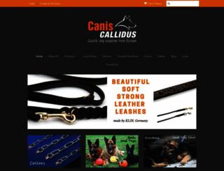 caniscallidus.com screenshot