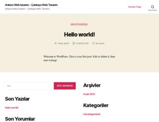 cankayawebtasarim.com screenshot